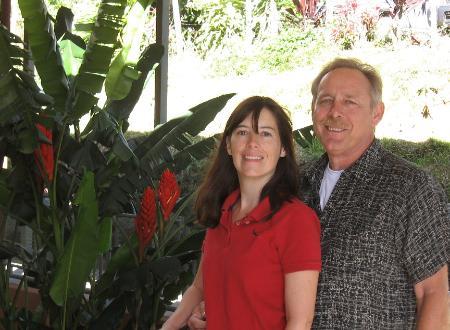 Kristina and Steve Linder