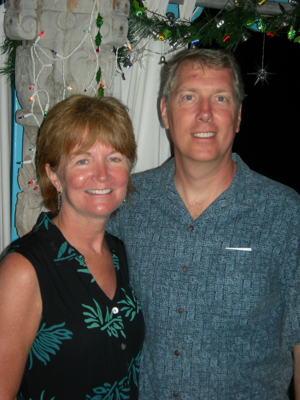 Mary Ann Bain and Jim Bain