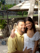 Bernie Hanna and Harsha Hanna