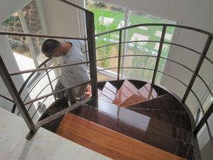 stairs that look like honey