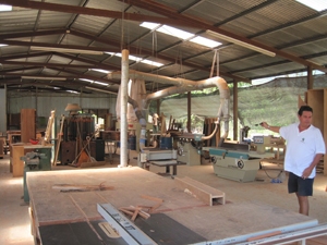 woodshop at Pacific Lots