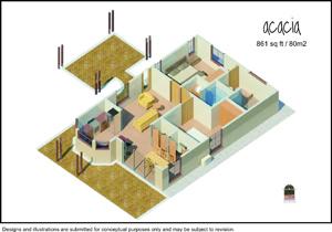 interior layout Costa Rica homes