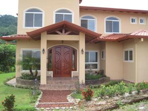 custom home in Costa Rica