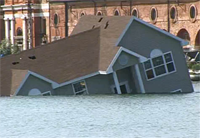 homes under water