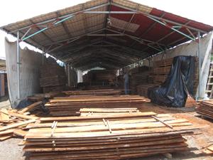raw wood