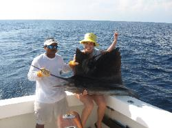 deep see fishing in quepos