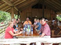 lunch at retaurante tilapias
