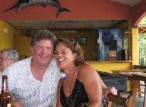 Lunch at the Marlin in Manuel Antonio