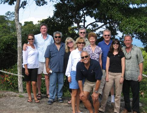 July tour group