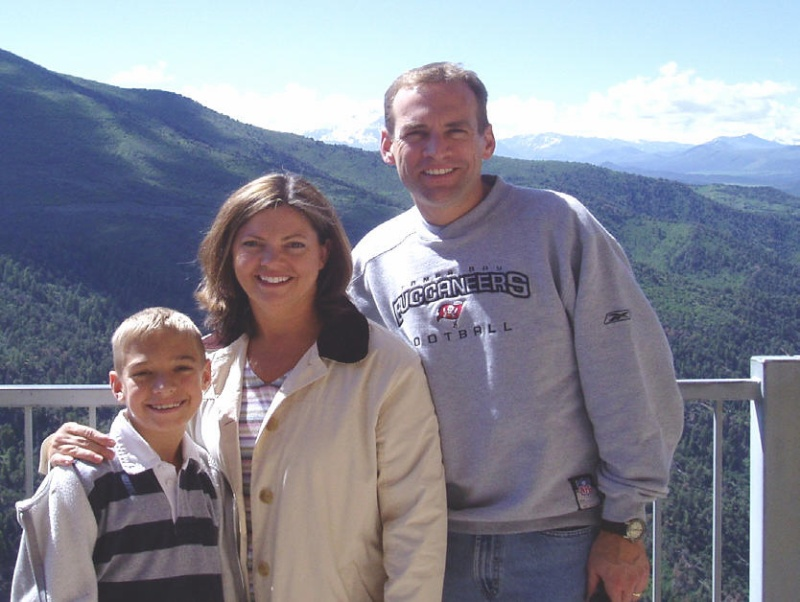 Jackson, Jeanne and Kevin Milkey