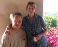 Jim Nickerson and Bettie Hirshom