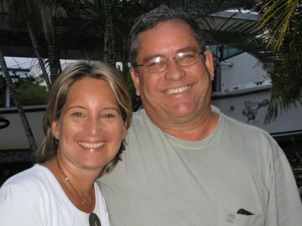 Virginia Magenties and Kevan Torry