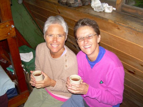 Mary Wall and Roberta Pupilli