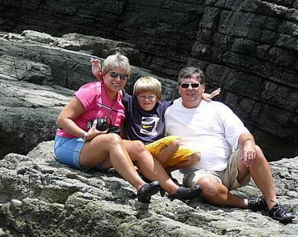 Melissa, Drew and Paul Kline