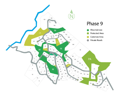 Phase 9 site map and prices