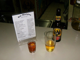 turtle Sangrita and beer