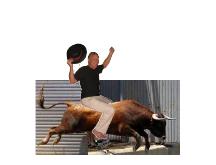 Steve Riding Bull