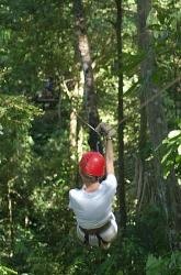 zip line at hacienda baru