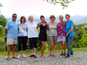 One of many ;property tour groups