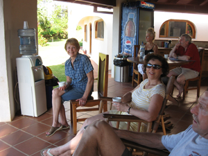 relaxing on a Costa Rica real estate tour