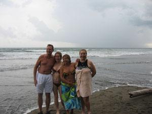 83 degree ocean water!