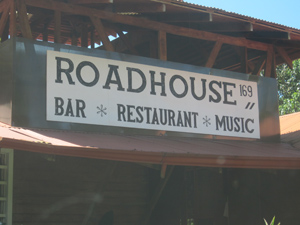 Located between Uvita and Ojochal the roadhouse is a favorite for live music and sports