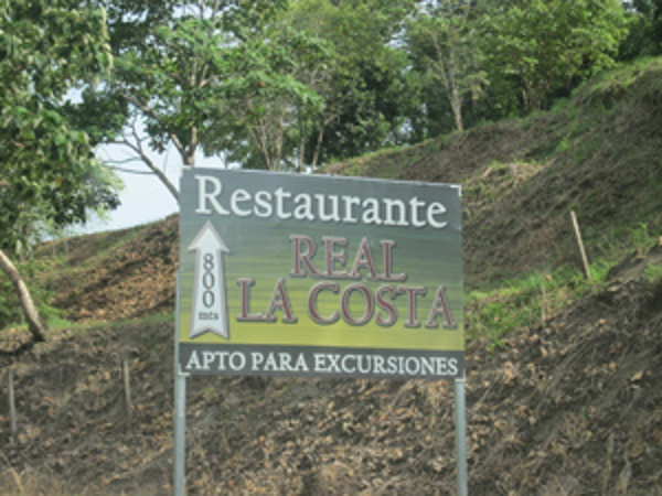 La Costa is a new Buffet restaurant for tour buses traveling on the Costanera highway.